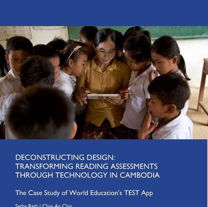 Deconstructing Design: Transforming Reading Assessments Through Technology in Cambodia