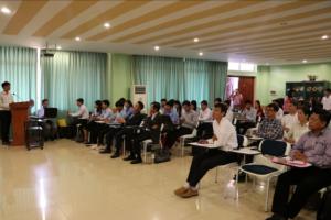 Participation of the workshop